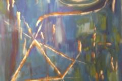 Blaue Bilder - paintings blue series