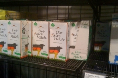Dioxin in der Milch? Bio ausverkauft!
