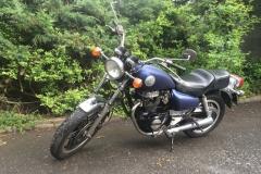 Mein Honda Motorrad