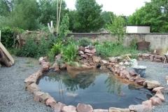 Ein neuer Teich