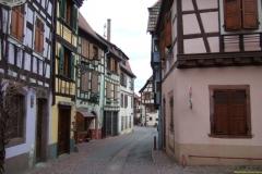 Ein paar hübsche Fachwerkhäuser im Elsass