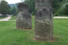 Steinskulpturen bei Burgdorf im Emmental
